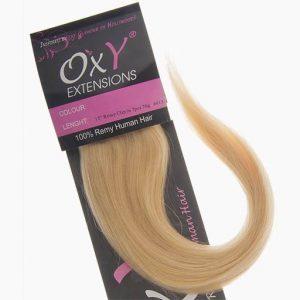 Clip in Vlasy 38cm 70g Najsvetlejšie Blond 613-0