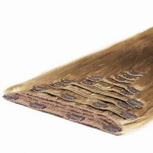 Deluxe Clip in Vlasy 50cm 200g Popolavá Blond 16-0
