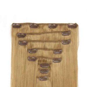 Clip in Vlasy 60cm 160g Popolavá Blond 16-0