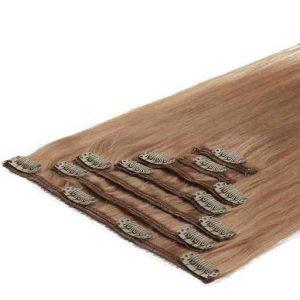 Clip in Vlasy 50cm 70g Jahodová Blond 27-0