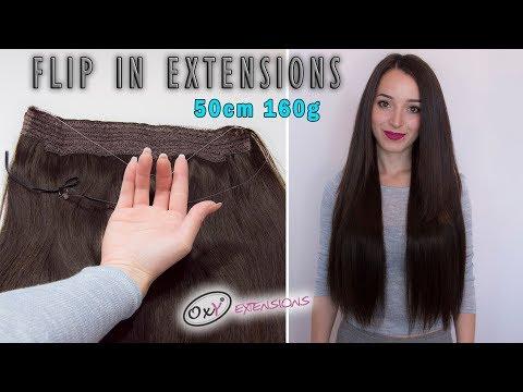 Flip in vlasy 55cm 160g-622