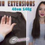 Prémiové Flip-in Vlasy 40cm 140gr #2